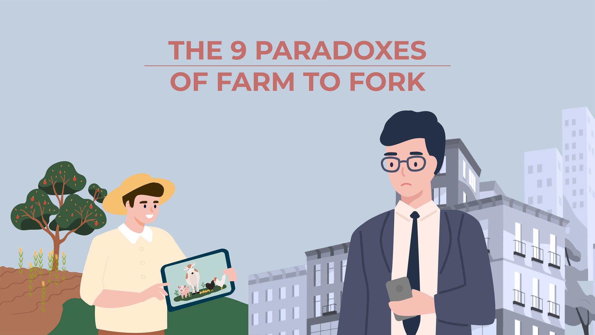 "9 paradoksów strategii ""Od pola do stołu"""